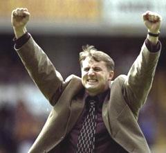 Paul celebrates at Bradford