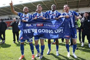 Wigan hoping to make it back to EFL Championship level