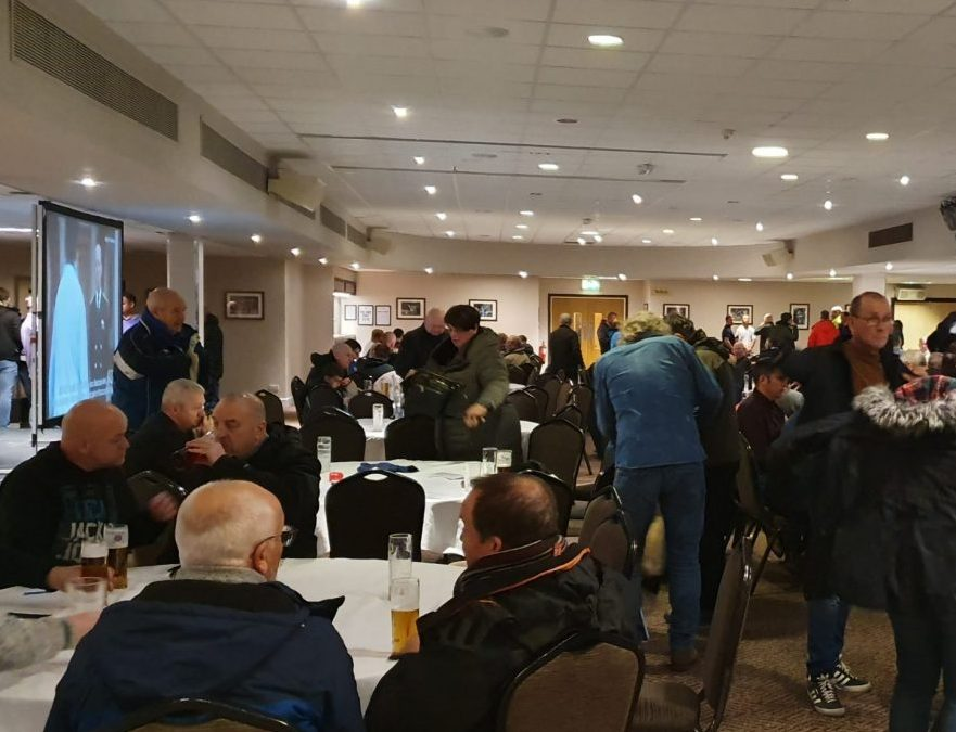 Supporters Club Bar 22nd February 2020