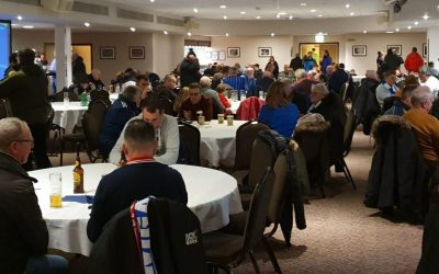 Pies and prizes in Supporters Club 14th December 2019
