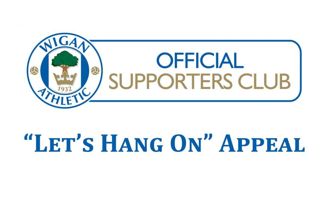 Let's Hang On Appeal Update 31st July 2020