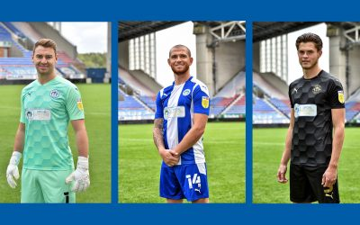 2020/21 Wigan Athletic Kit Reveal
