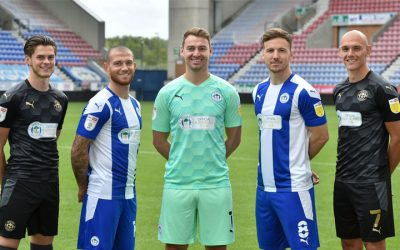 Fans get to buy Wigan Athletic home kit very soon
