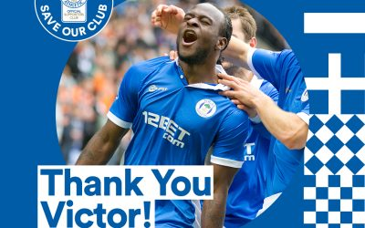 Victor Moses donates to Save Wigan Athletic