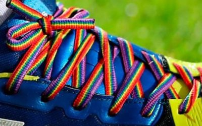 Rainbow laces support this weekend